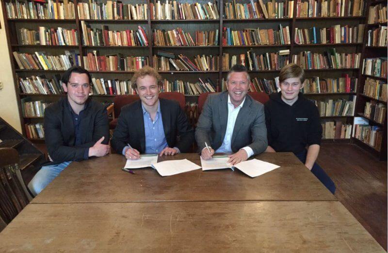 SMB Willems en WSV Ceres tekenen contract schoonmaakonderhoud