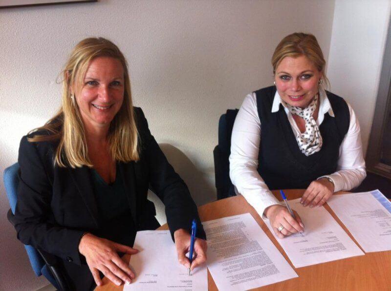 Contractondertekening Gemeente Heumen en SMB Willems