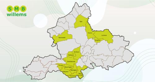 SMB Willems breidt uit met acht gemeenten
