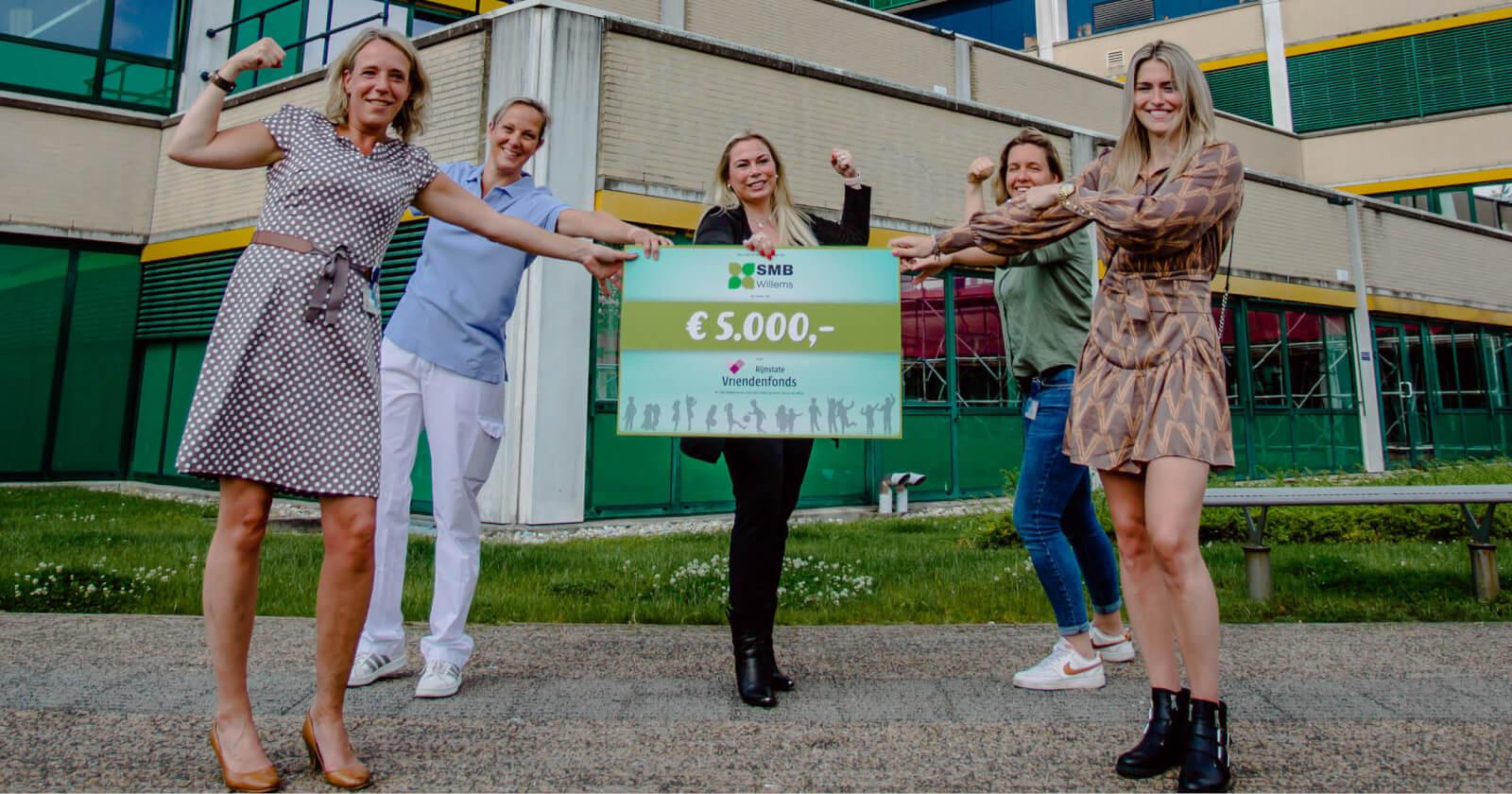 Donatie voor Rijnstate Vriendenfonds